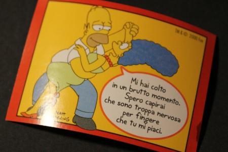 Simpsons in Italia: Vintage Simpsons Gum