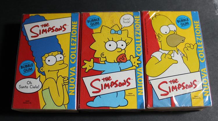 Simpsons Gum Italy