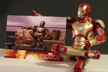 Iron Man 3 Trading Cards from Upper Deck