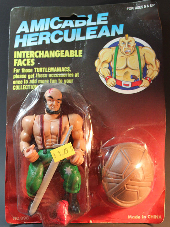 Amicable Herculean : Teenage Mutant Ninja Turtle bootleg toy