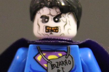 Bootleg LEGO Bizarro Superman