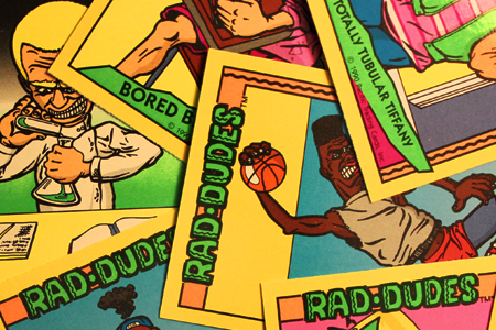 Rad Dudes Trading Cards