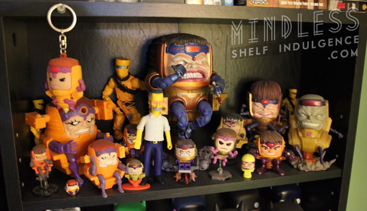 MODOK action figure collection