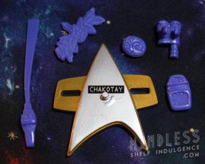Chakotay's accessories
