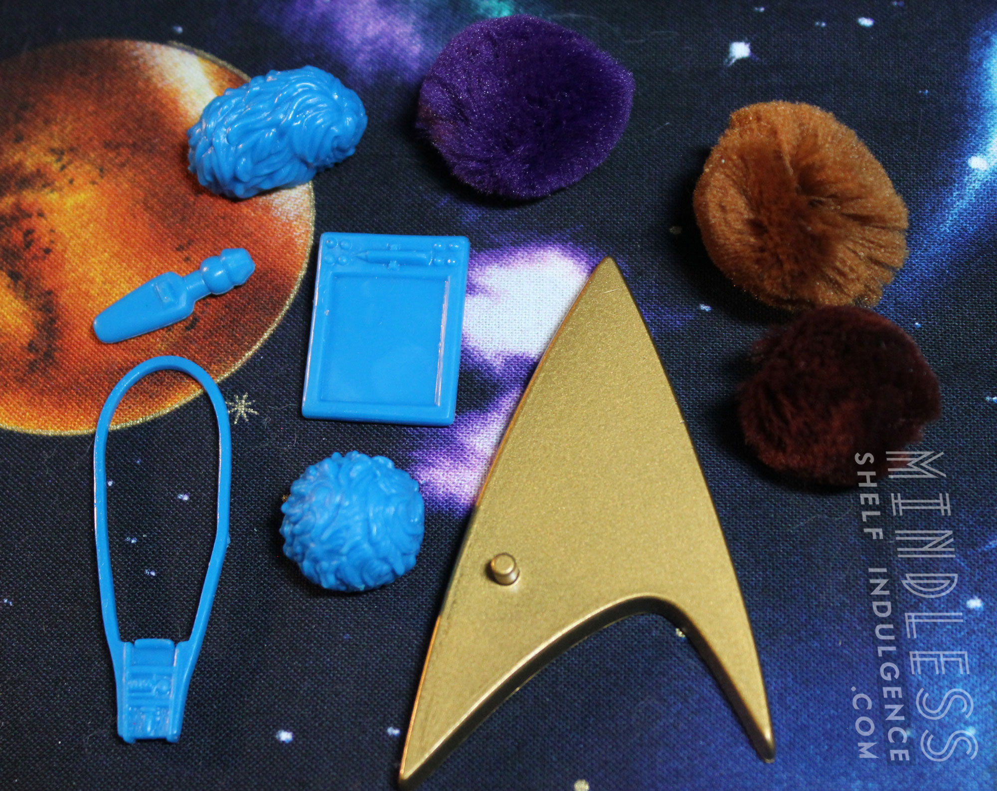 Dax in 'Trials and Tribble-ations' - Mindless Shelf Indulgence