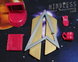 Action figure accessories for 'All Good Things' Geordi