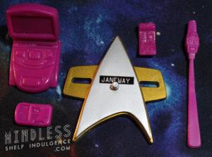 Captain Janeway's accessories