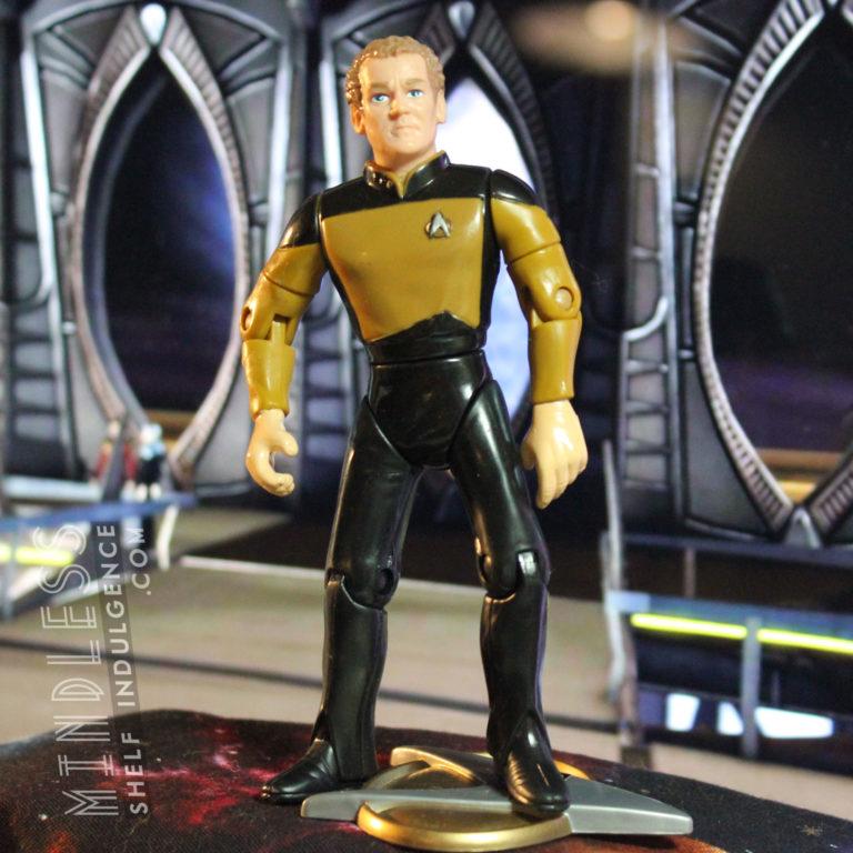 O'Brien in Duty Uniform