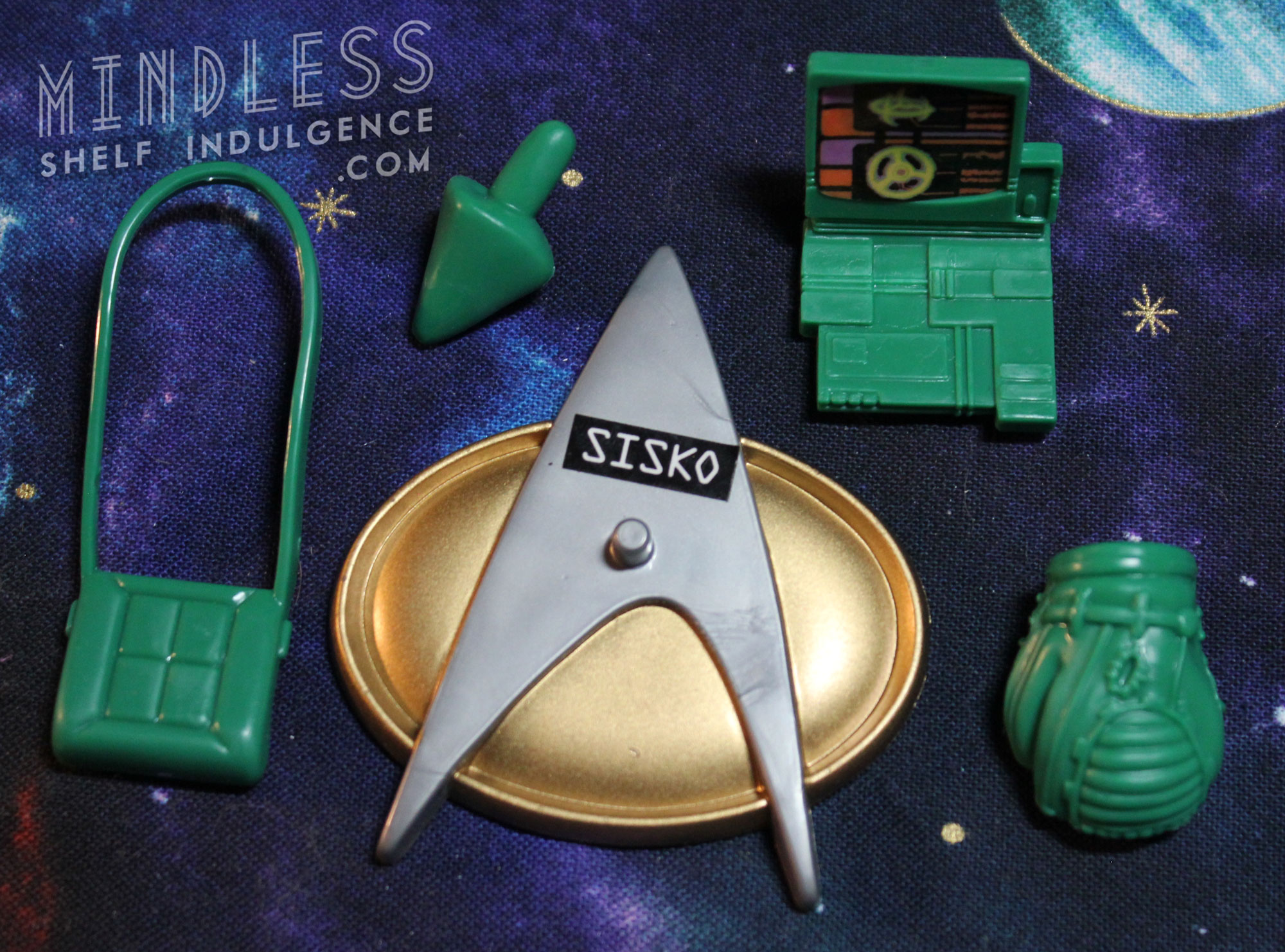 Jack Sisko's accessories