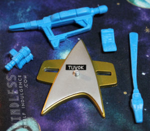 Tuvok's accessories
