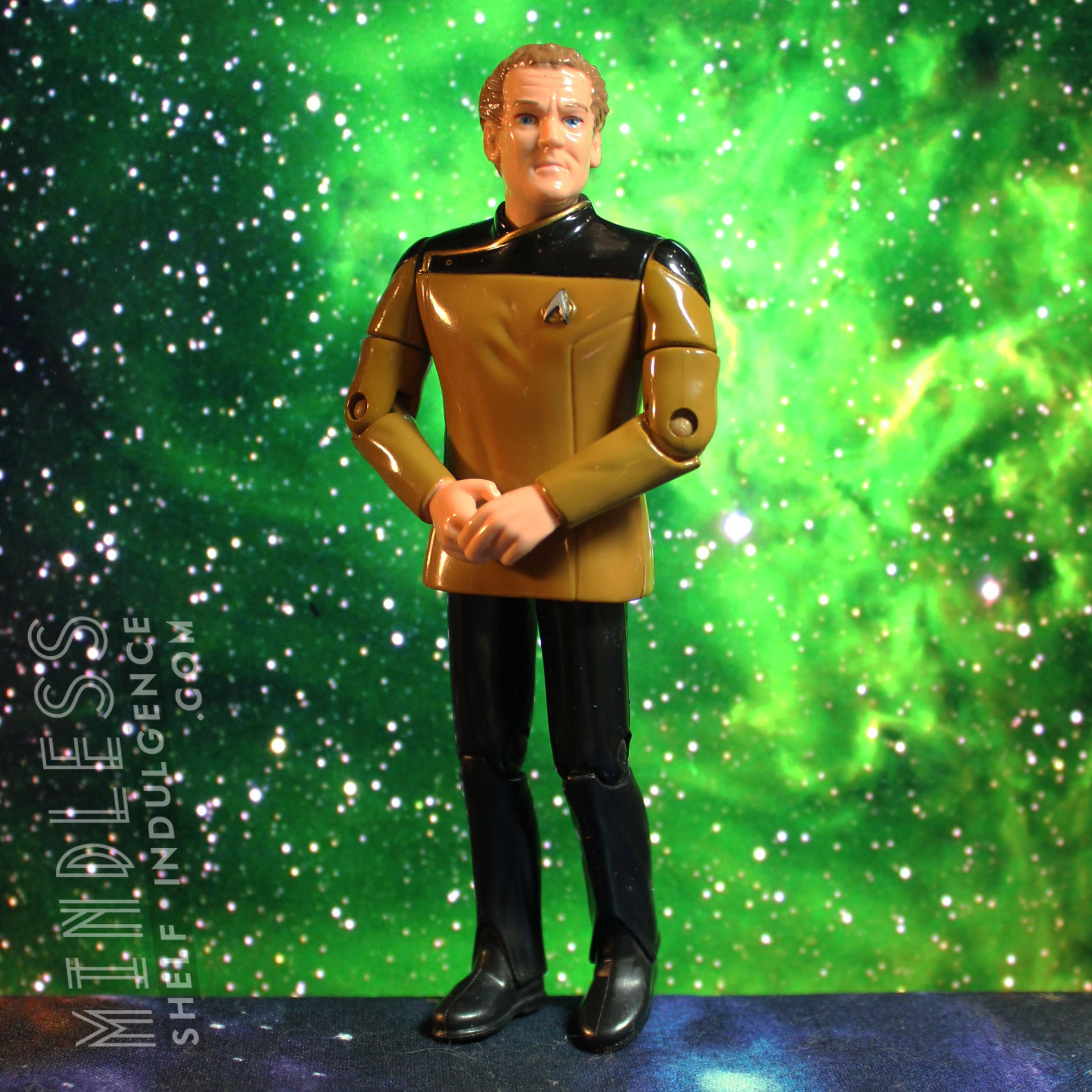 O'Brien in Dress Uniform