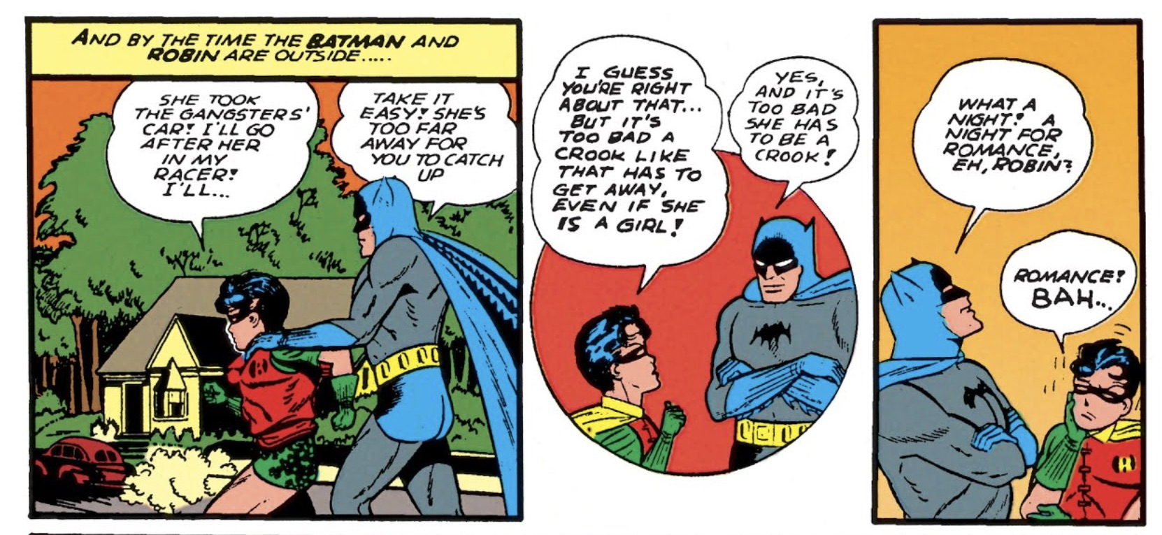 Batman gaslights Robin