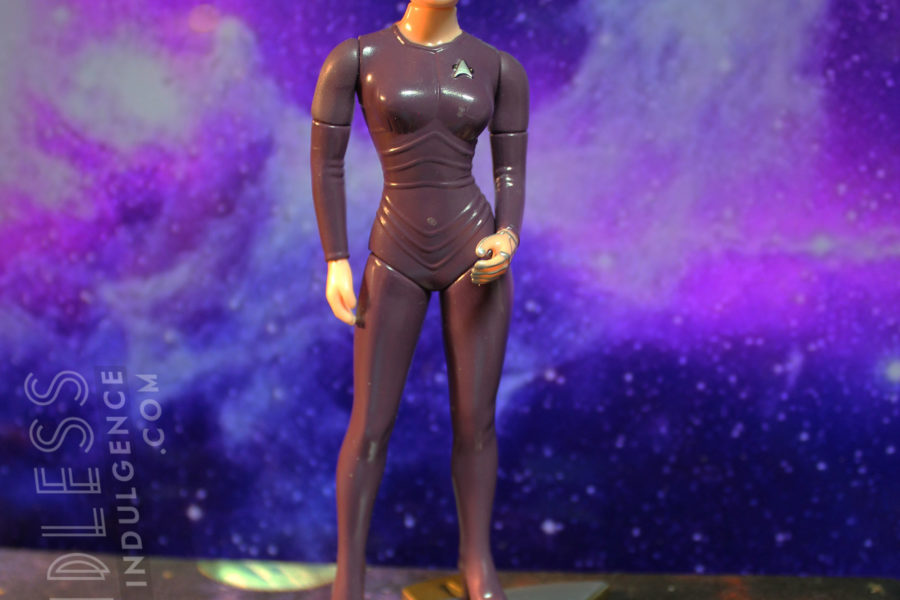 Seven of Nine action figure, purple