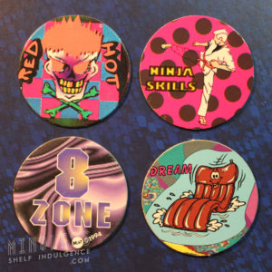 Four ugly pogs.