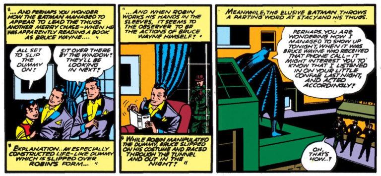 Robin's Bruce Wayne Costume
