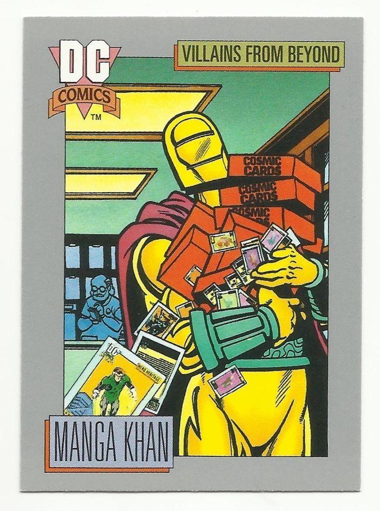 Manga Khan trading card
