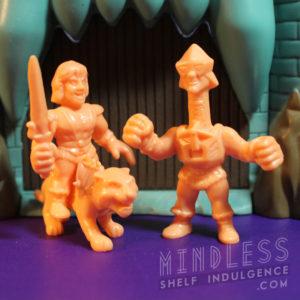 MUSCLE He-Man, Battlecat, and Mekanek