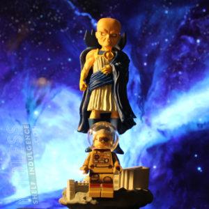 Heroclix Watcher & Stan Lee Lego