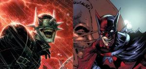 Batman Who Laughs & Two-Face as Batman