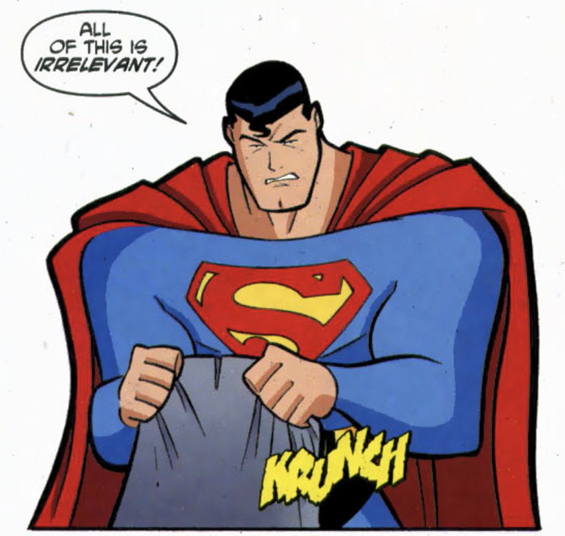 Angry Superman