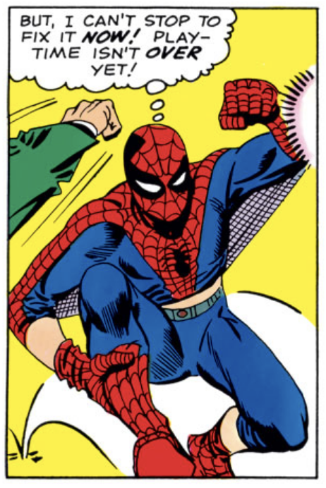 Spider-Man Can't Stop Now