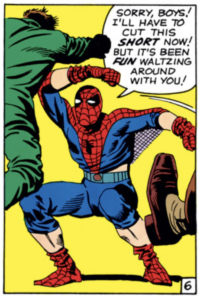 Spider-Man cuts things short