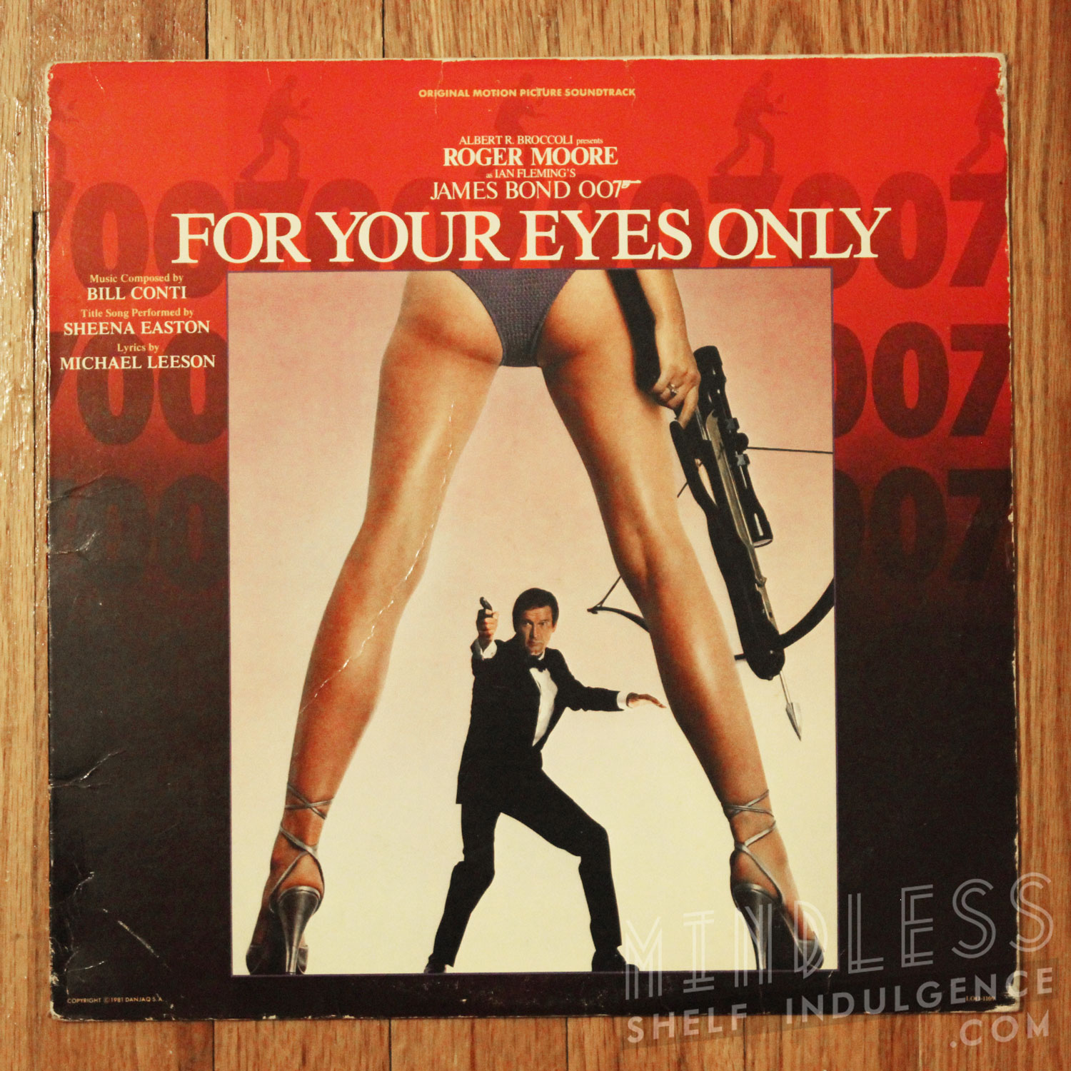 For Your Eyes Only 007 LP