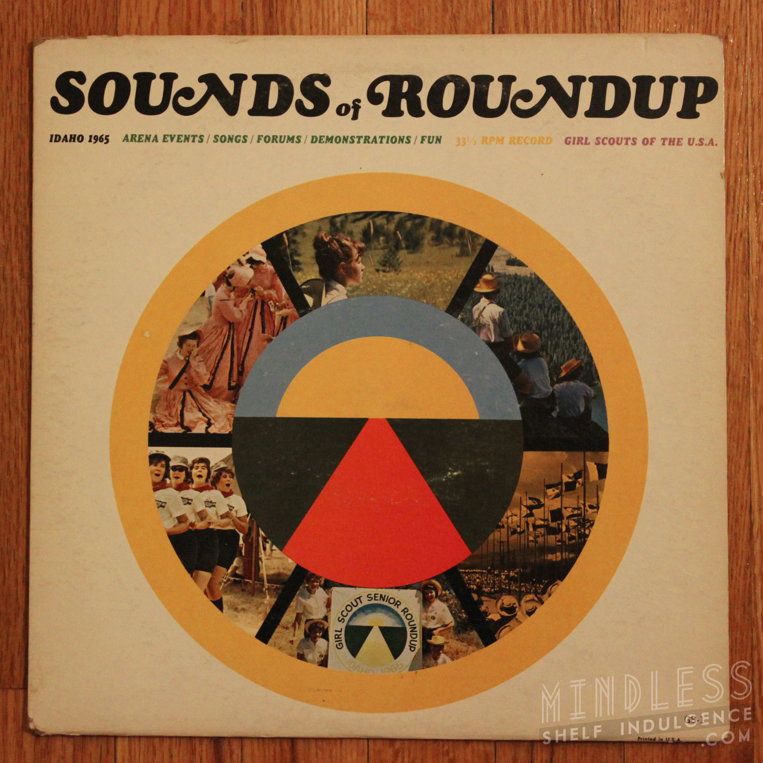 Girl Scouts Roundup LP