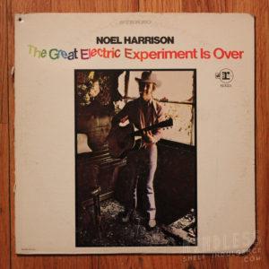 noel harrison electric experiment LP