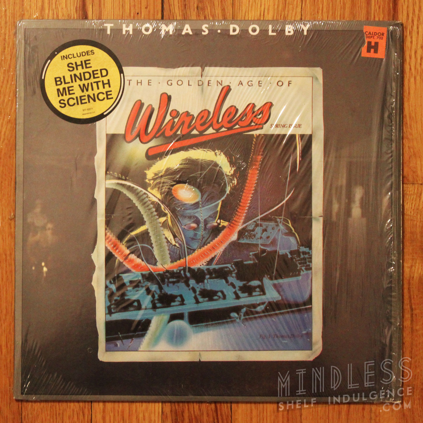 Thomas Dolby Golden Age of Wireless LP