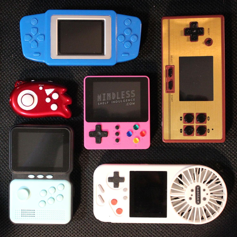 Bootleg video game handhelds
