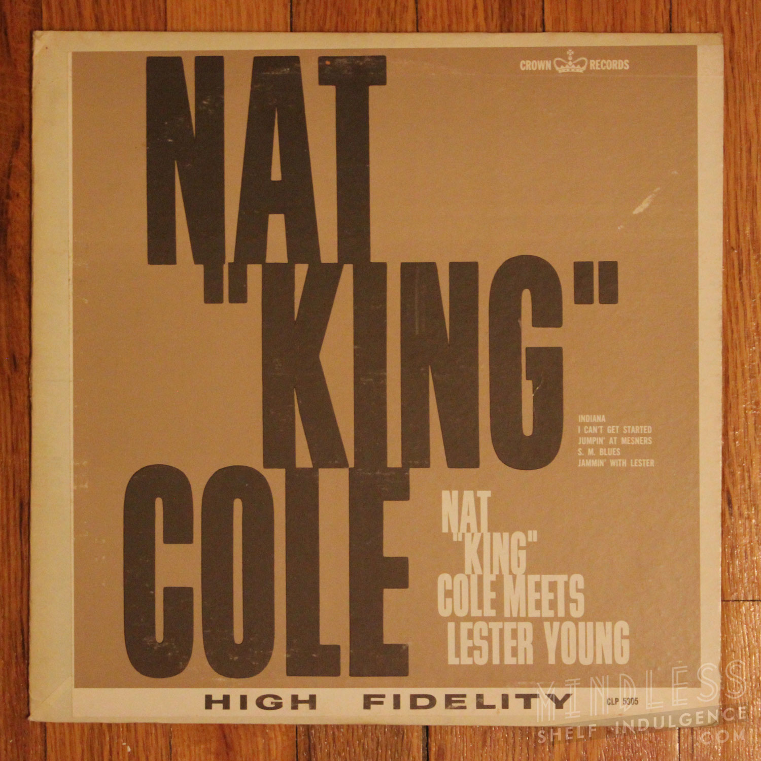 Nat King Cole Lester Young LP