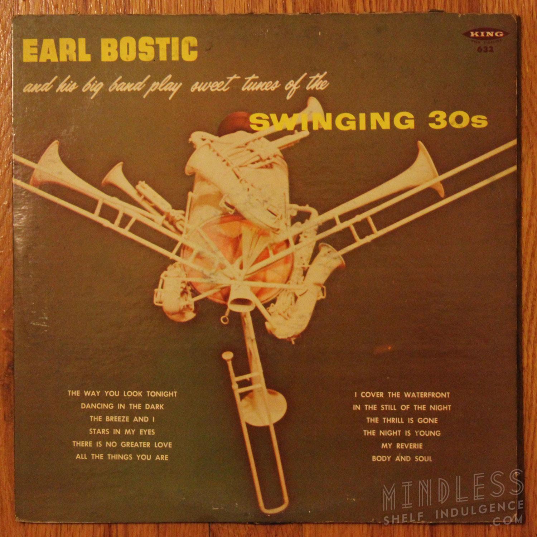 Earl Bostic Swinging 30s LP