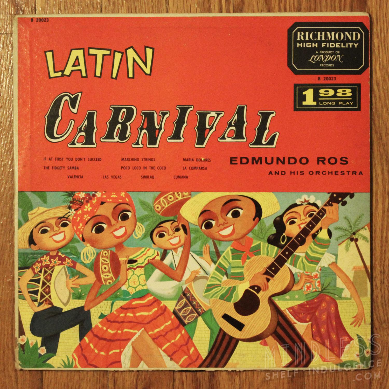 Edmundo Ros Latin Carnival LP