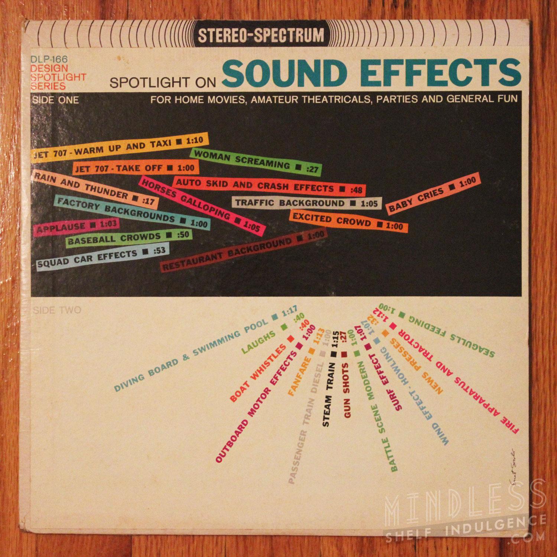 Spotlight On Sound Effects LP