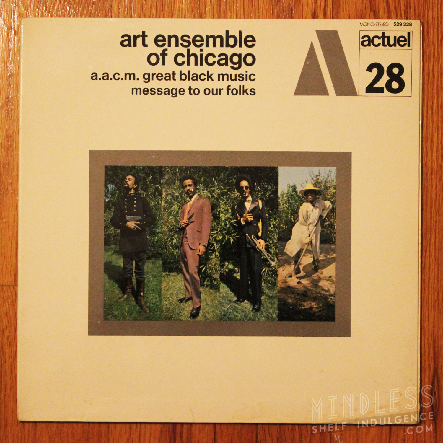 Art Ensemble of Chicago Message To Our Folks LP