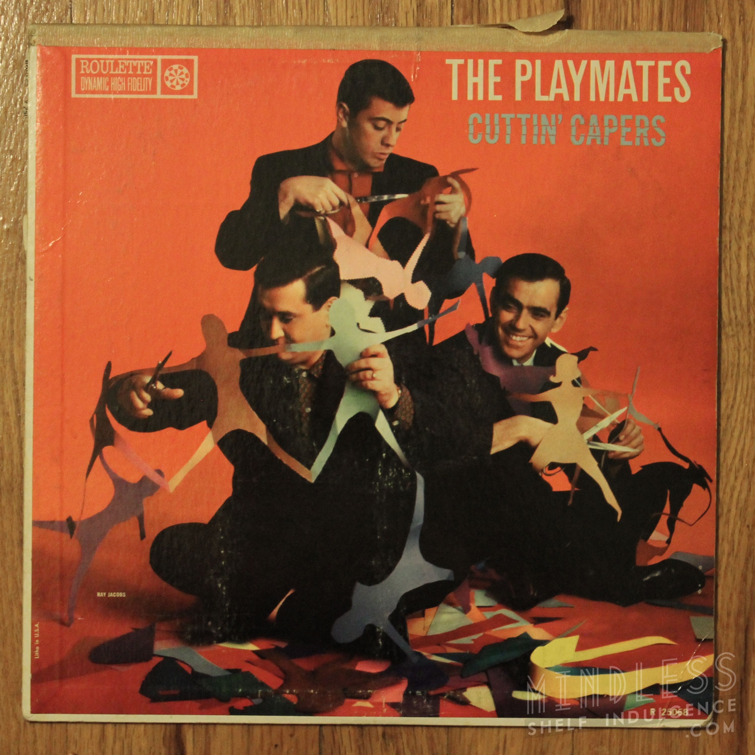 The Playmates Cuttin' Capers LP