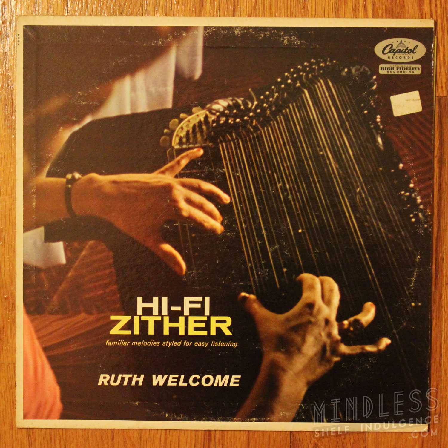 Hi Fi Zither Ruth Welcome LP