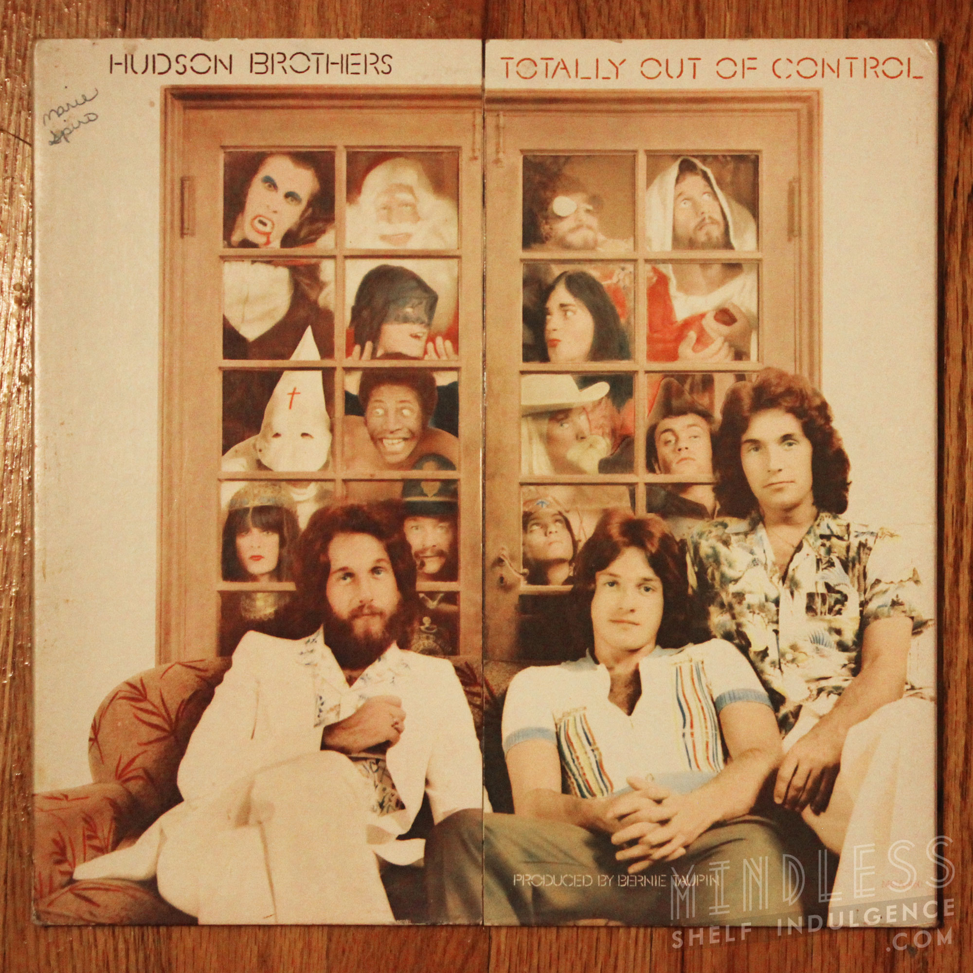 Hudson Brothers Totally Out Of Control LP