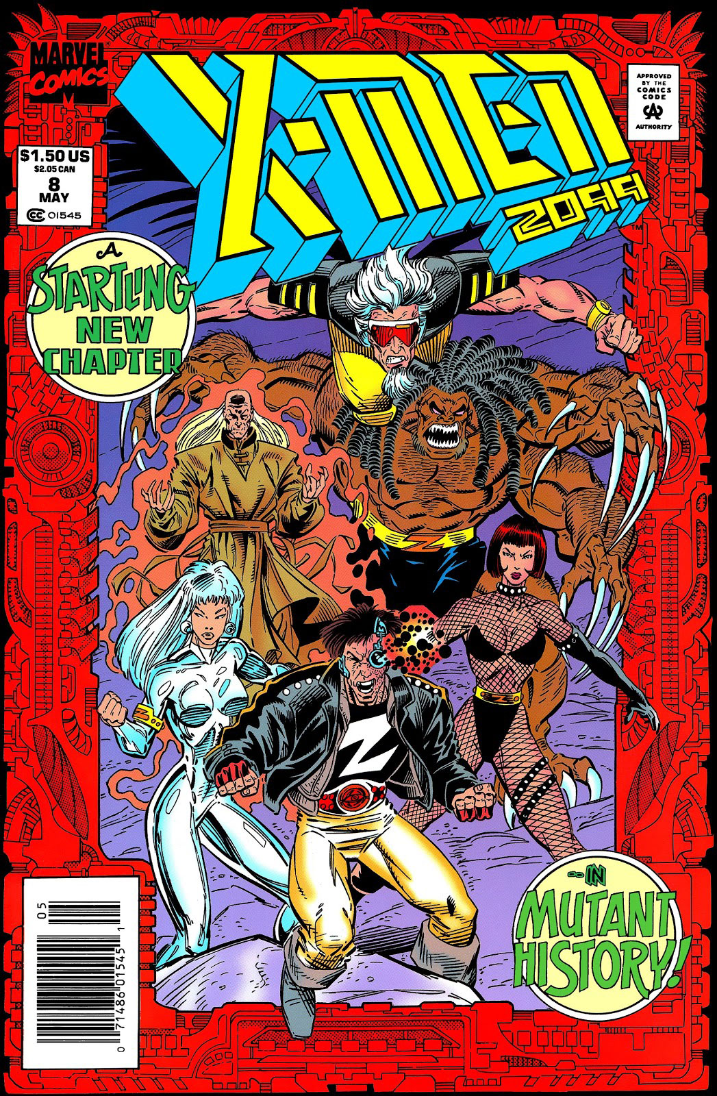 X-Men 2099 #8 Cover