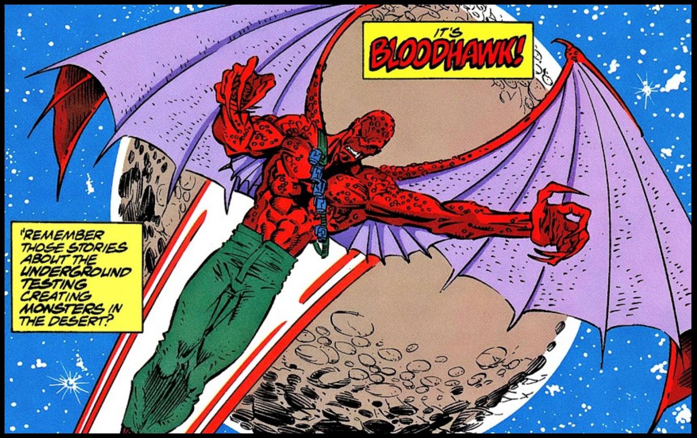 X-Men 2099's Bloodhawk