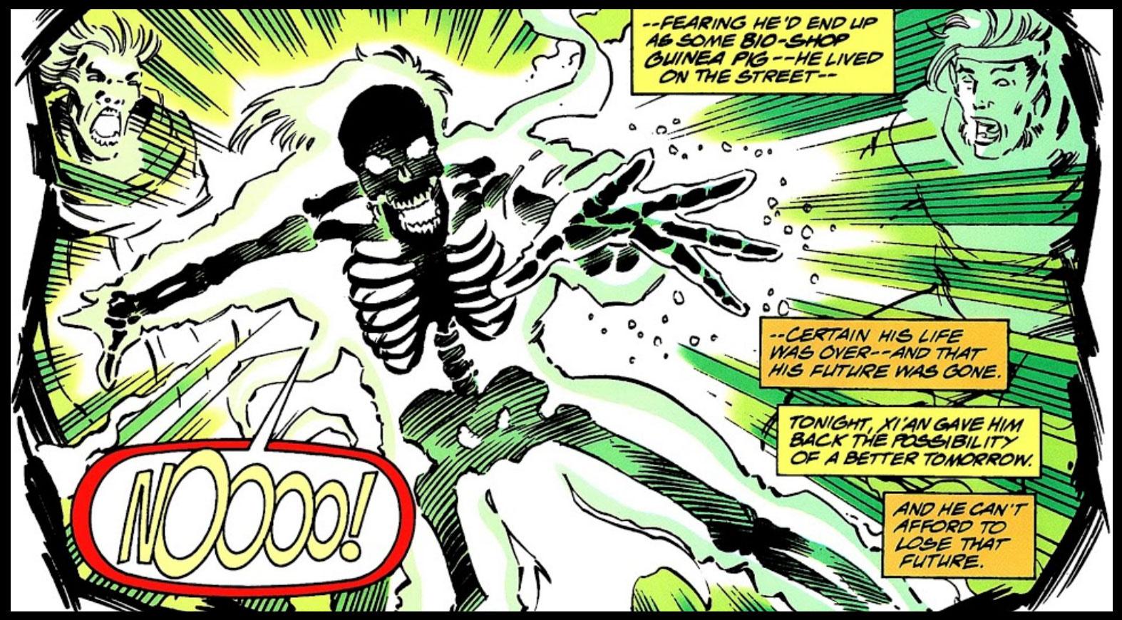 X-Men 2099's Skullfire
