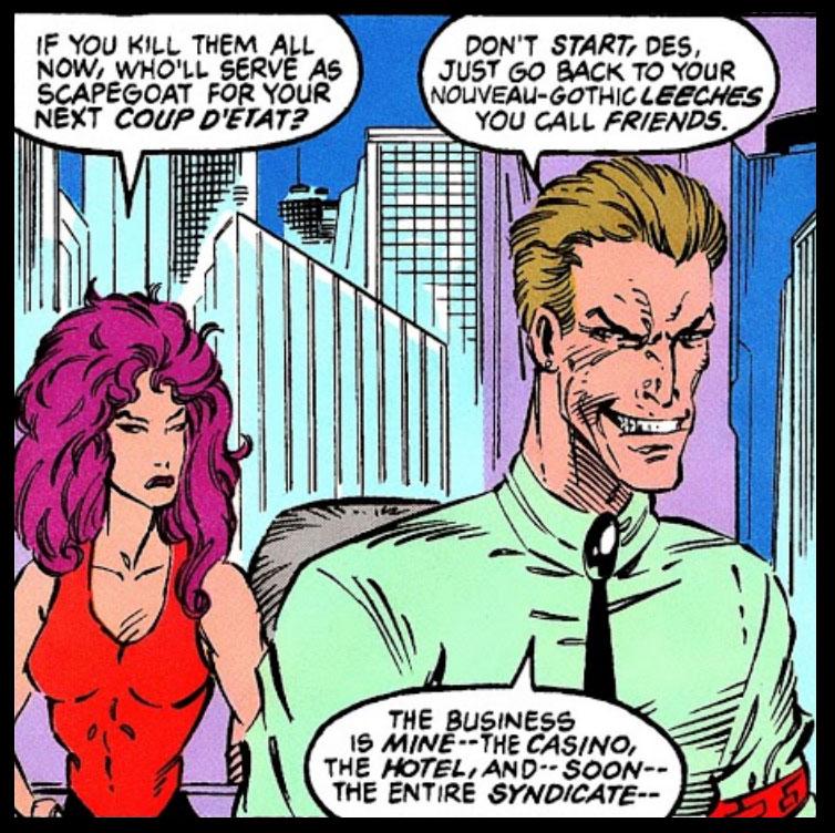 X-Men 2099's Synge Family