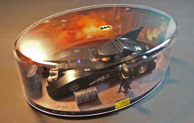 1989 Batmobile by Eaglemoss Batman Autmobilia
