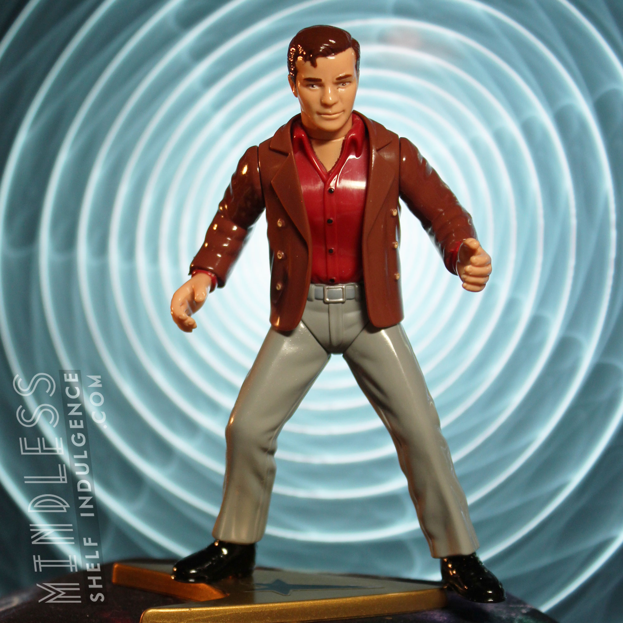 Kirk in 'City on the Edge of Forever'