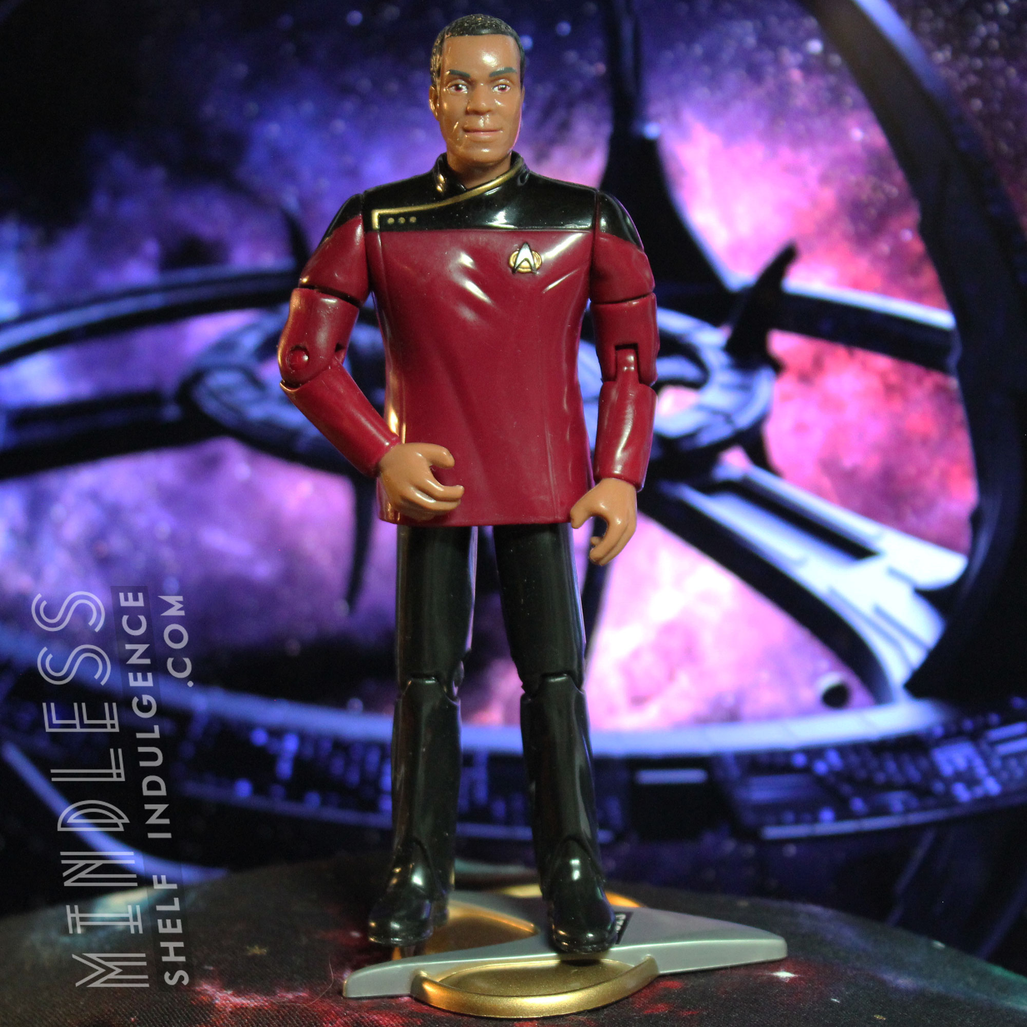 Sisko in Dress Uniform